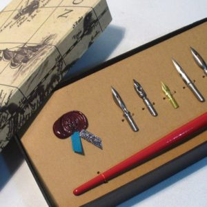 5 plumas caligrafia