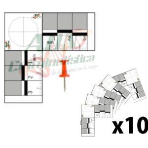 Test L 3cm x10